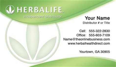 herbalife business card templates order herbalife business cards free shipping and design