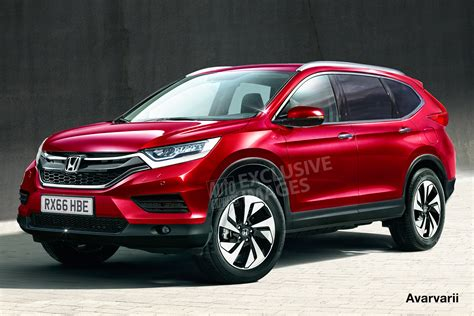 Honda Crv New Model 2018 2018 honda cr v brand new generation is coming carbuzz info