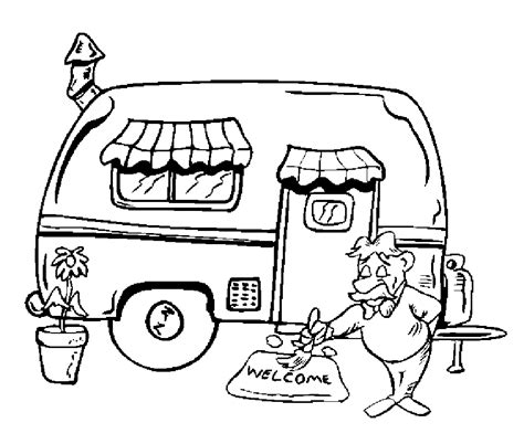 preschool vacation coloring pages cing coloring pages for preschoolers coloring home