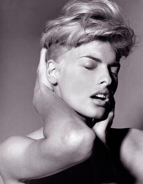 linda evangelista short hair linda evangelista by steven meisel 1991 favorite models