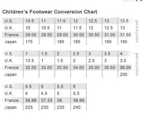 adidas shoe size chart helvetiq