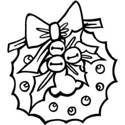 christmas wreath coloring pages coloringpages1001