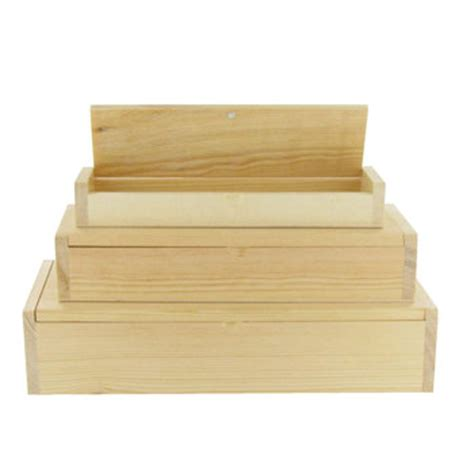 Hobby Lobby Gift Card Box - wood rectangle boxes hobby lobby 429969