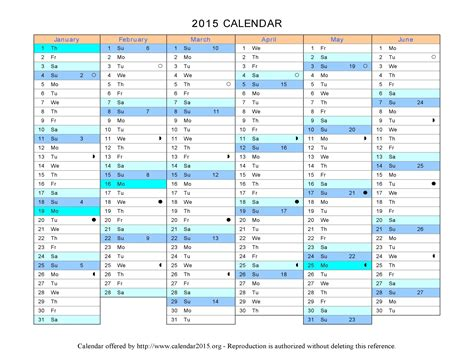 Free Printable Calendar Templates For 2015 by Best Photos Of 2015 Calendar Template Microsoft Word
