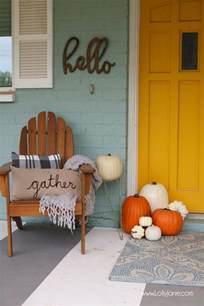free fall decorating ideas easy fall porch ideas printable