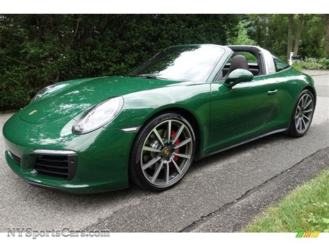porsche targa green 2017 porsche 911 targa 4s in paint to sle green