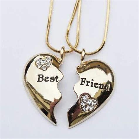 17 best ideas about best friend necklaces on