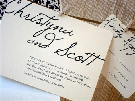 25  best ideas about Wedding invitation inserts on