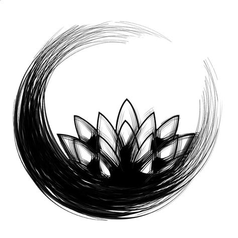 lotus enso tattoo enso lotus i love the enso and this one is a favorite