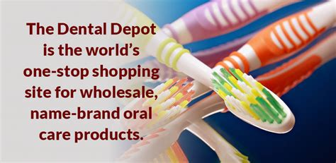 dental depot wholesale care products do it yourself