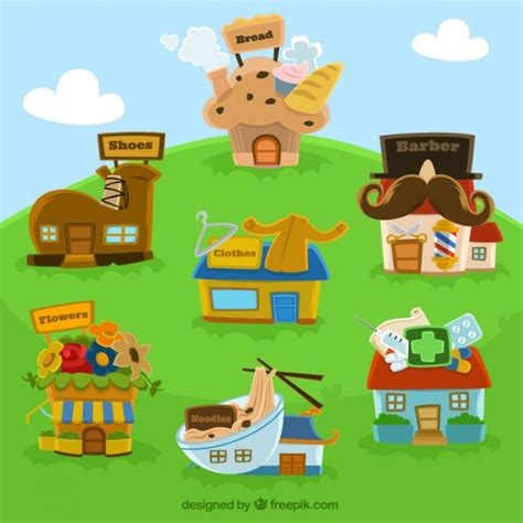 free cartoon house pictures free download house cartoon house vector vector free download