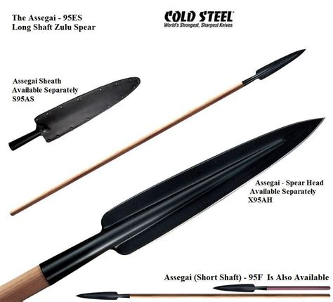 how to make a spear shaft cold steel assegai shaft spear