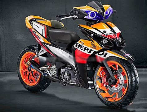 Jual Blade Repsol 125 Th 2014 modifikasi motor blade free modifikasi motor