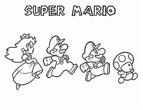super mario 3d land coloring pages az coloring pages