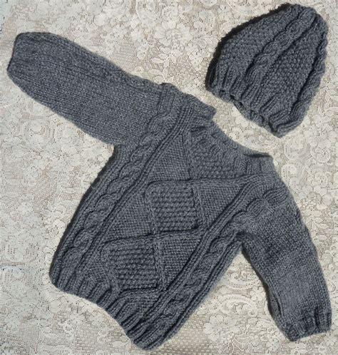 sueter tejidos con agujas para ninas saco y gorro para bebe tejidos en dos agujas sacos para