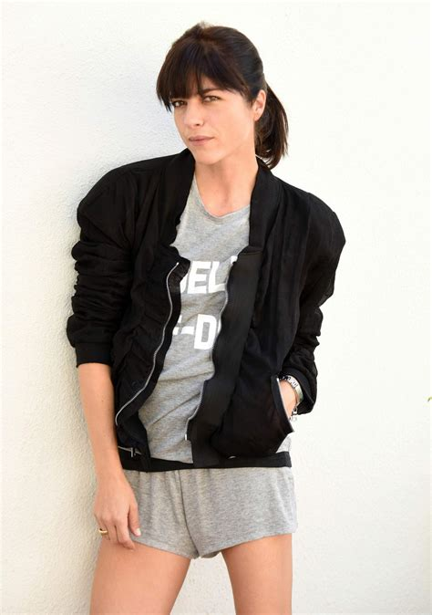 The New On The Gap Block Selma Blair And Mayer by Selma Blair Photoshoot For La Clothing Brand Savous