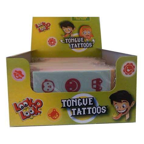 tattoo rice paper tongue tattoos sugar free rice paper sweets novelty candy