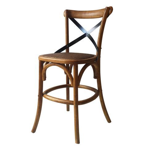 Vintage Style Dining Chairs Joveco Vintage Style Solid Wood Seat Barstool Dinner Chair Joveco