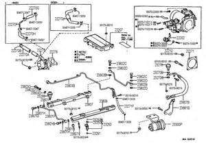 95 Lexus Ls400 Parts 1991 Lexus Ls400 Fuel Injection System