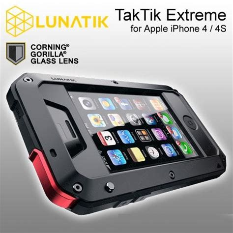 Promo Lunatik Taktik Iphone 4 4s Gorilla Glass other accessories iphone 4 4s lunatik taktik with