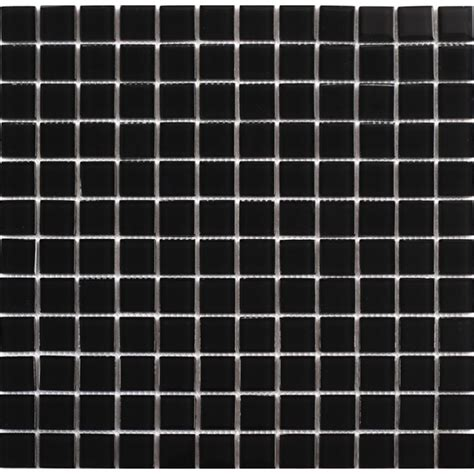 Wholesale black crystal glass mosaic tiles kitchen backsplash design bathroom wall floor shower