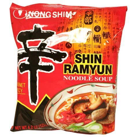 Nongshim Shinramyun Cup Noodle Soup nong shim shin ramyun 4 2 oz asianfoodgrocer
