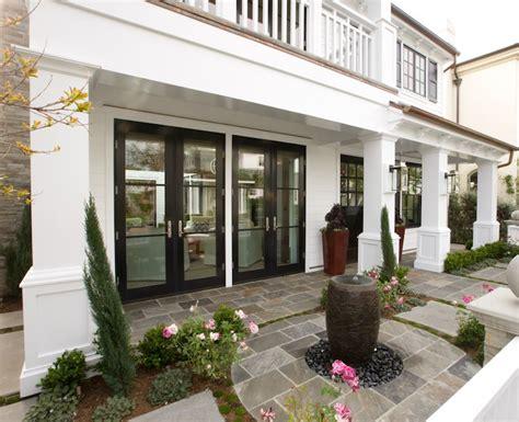 Backyard Door Ideas Mirrored Doors Transitional Deck Patio Spinnaker Development
