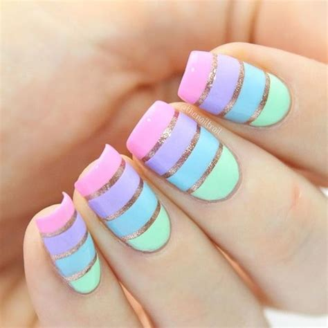 Easy Nail Designs by 23 Nail Designs To Try In 2017 Easy Nail