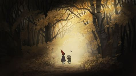 Over The Garden Wall On Cartoon Network The Garden Wall Network