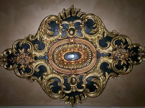 painting a ceiling medallion 245 best images about painted ceilings on