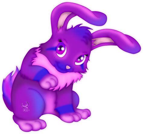 Purple Rabbit request purple rabbit by iphenixia on deviantart