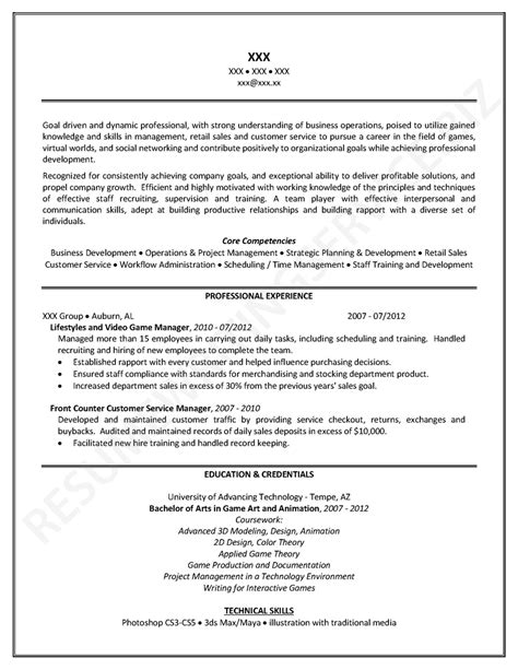 Core Competencies Examples For Resume by Useful Tips For Professional Level Resume Writing