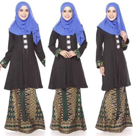 Fashion Baju Anak Terkini baju kurung moden kain songket fesyen trend terkini 2016 2017 fesyen trend terkini