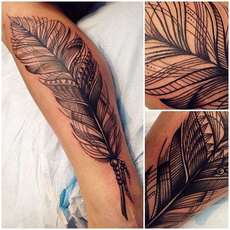 tattoo inspiration bohemian nice feather tattoo bohemian style tattoomagz com
