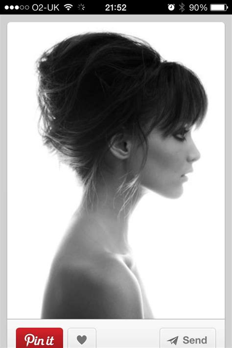 Messy French Twist Love This For Wedding Hair Cute Simple | messy french twist fashionista pinterest twists