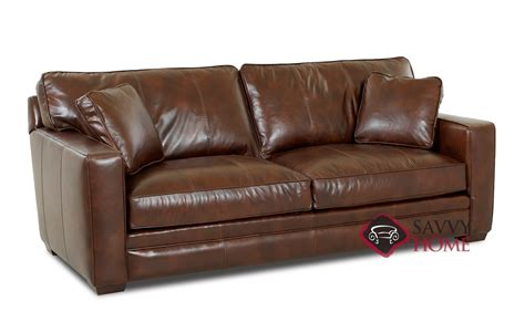 Leather Sleeper Sofa by Chandler Leather Sleeper Sofas By Savvy Is Fully