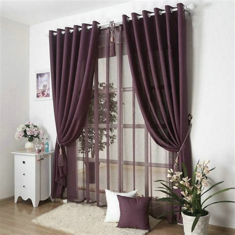 grey and burgundy curtains new arrival solid color curtains for living room plain
