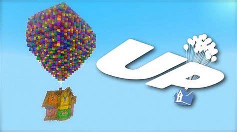 Pixars pixar s up house minecraft project
