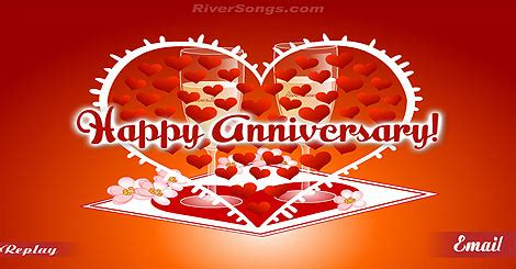 Riversongs Anniversary Cards anniversary cards happy anniversary greetings riversongs