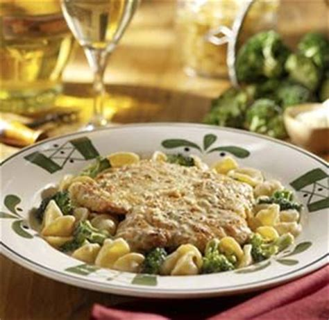Olive Garden Thanksgiving by Lemon Chicken Scallopini Pasta Con Broccoli Mock Olive Garden Recipe Sparkrecipes