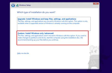 cara install windows 10 dari usb cara install windows 10 menggunakan usb flash drive