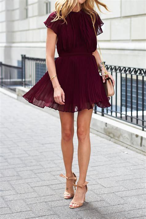 Fashions To Come by Pleated Mini Dress Fashion Jackson