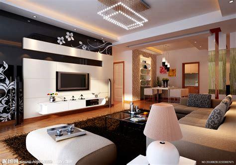 Living Room Gallery Cottbus 电视背景墙设计图 室内设计 环境设计 设计图库 昵图网nipic