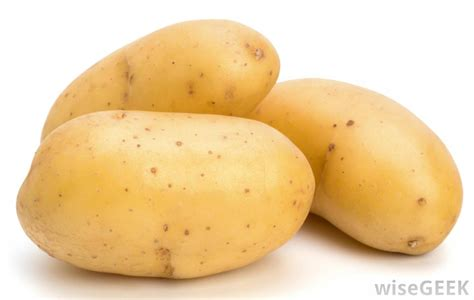 what is a potato with pictures