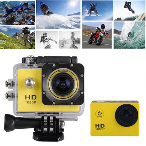 Sport Wifi Mini Hd Dv 1080p Waterproof 12mp 12mp hd 1080p sports waterproof mini dv
