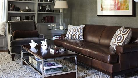 accent chairs to go with leather sofa morgan harrison home dens libraries offices gray