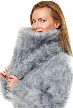 gray hair is fuzzy 1000 images about fluffy handmade mohair sweaters by