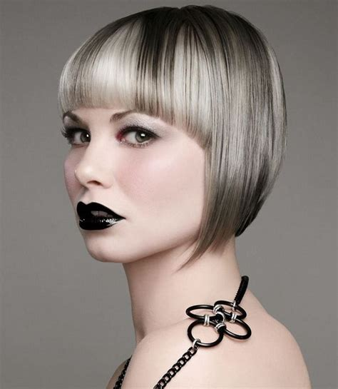 chin length edgy hairstyles 18 best by jenny at west clay and mid rivers locations