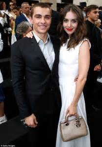 ezra miller wdw newly engaged alison brie attends screening for new film