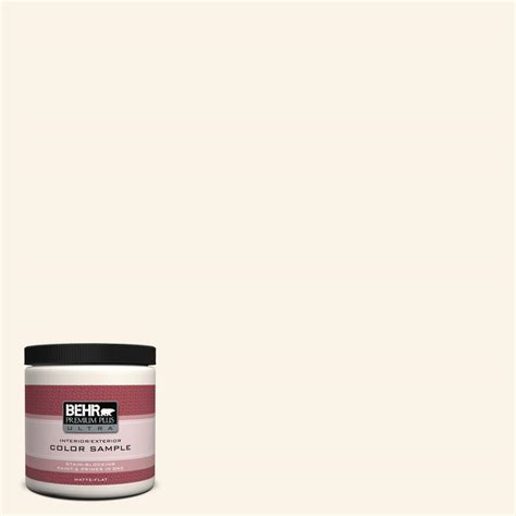 behr premium plus ultra 8 oz w d 200 pot of interior exterior paint sle w d 200u